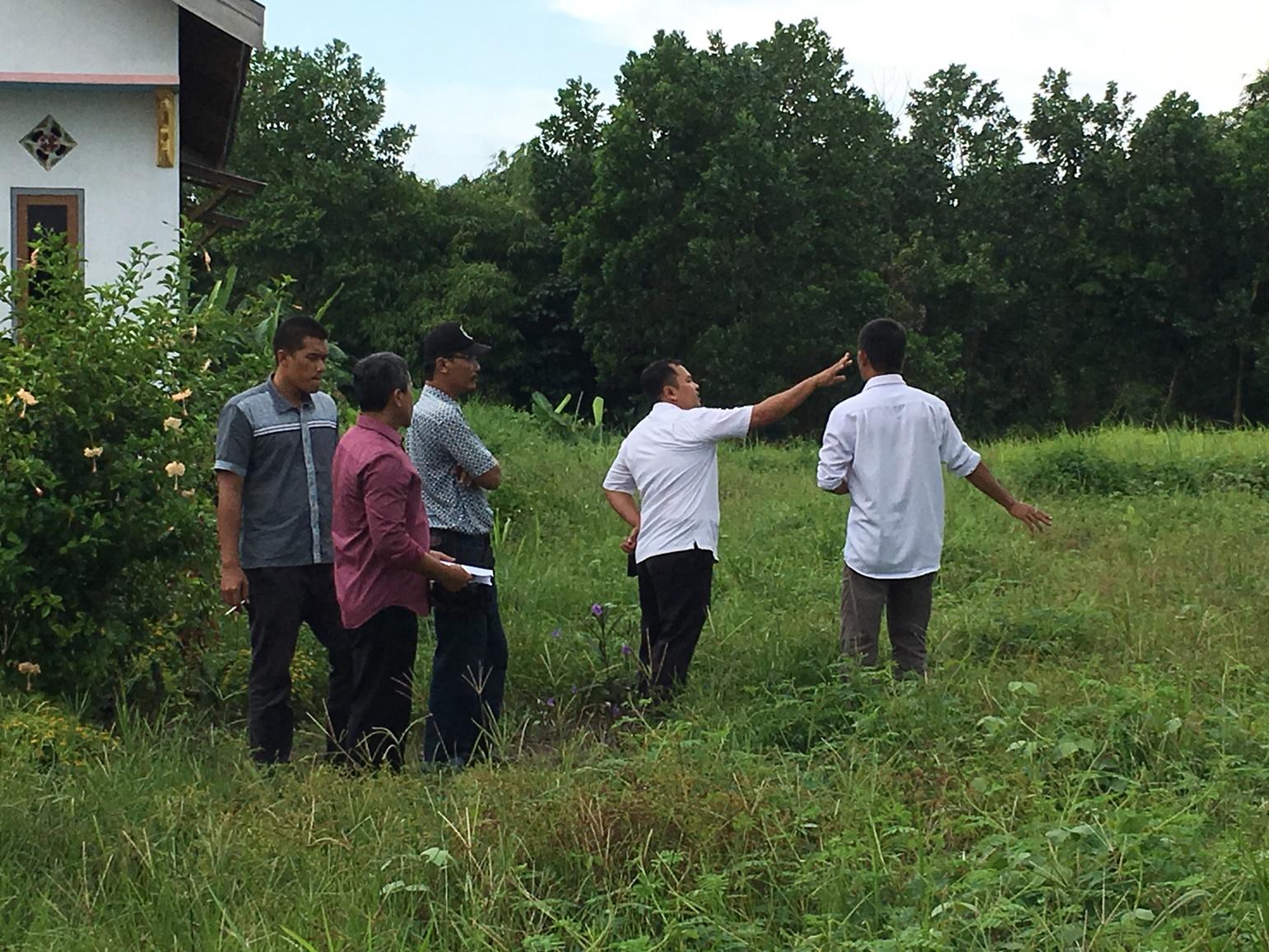 Peninjauan Lapangan Rencana Pembangunan Gedung Baru Puskesmas Landasan Ulin Timur TA 2018