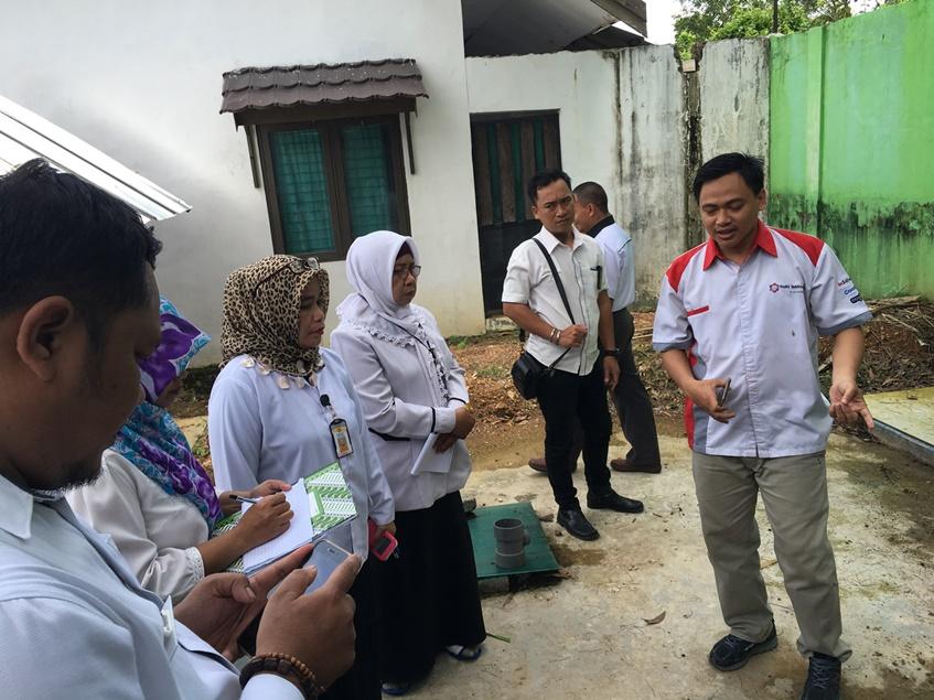 Ujicoba dan Ujifungsi IPAL di Puskesmas Banjarbaru Utara