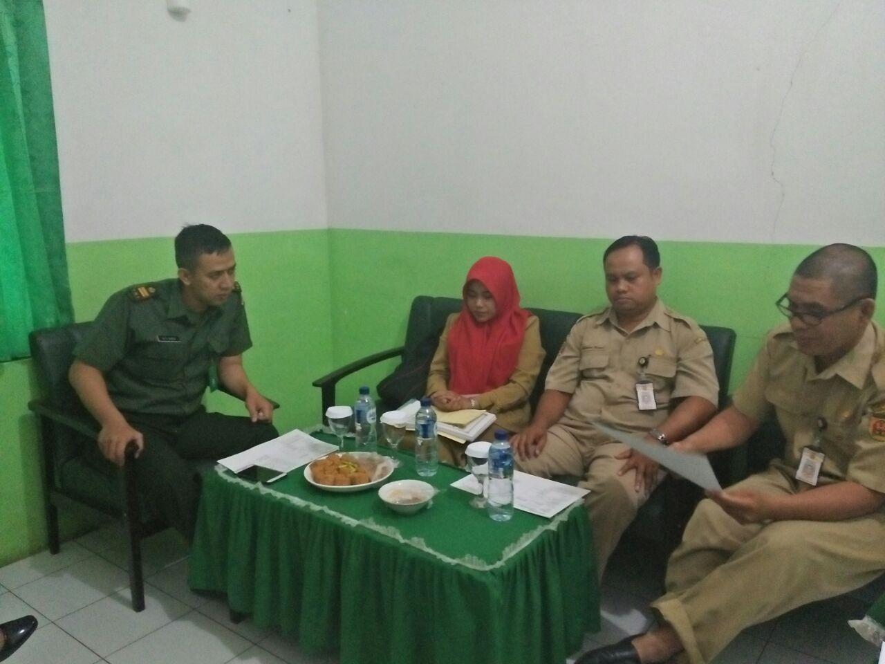 Supervisi TB ke RS Tk IV Guntung Payung